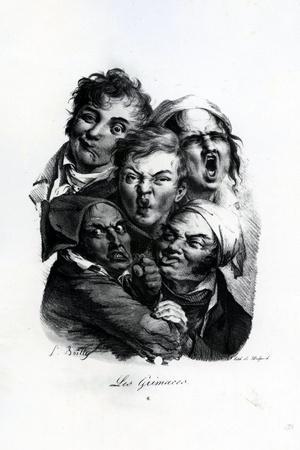 Les Grimaces, C.1823