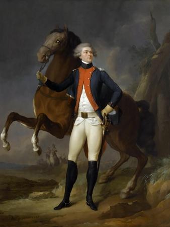 Portrait of Gilbert Motier the Marquis De La Fayette (1757-183)