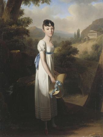 Portrait of Mademoiselle Athénaïs D'Albenas