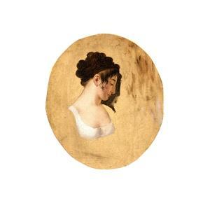 Profile of a Young Woman's Head, c.1794 by Louis Leopold Boilly
