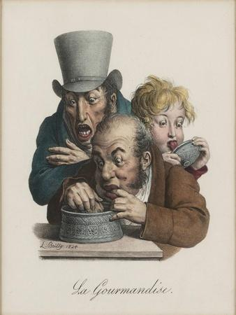 The Gluttony, 1824-1825