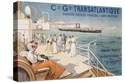 Cie. Gle. Transatlantique, circa 1910
