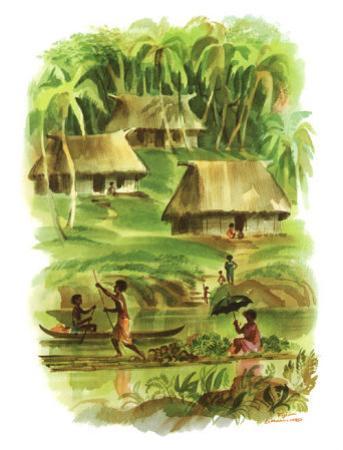 Fiji by Louis Macouillard
