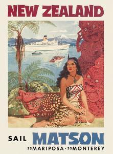 New Zealand - Sail Matson by Louis Macouillard