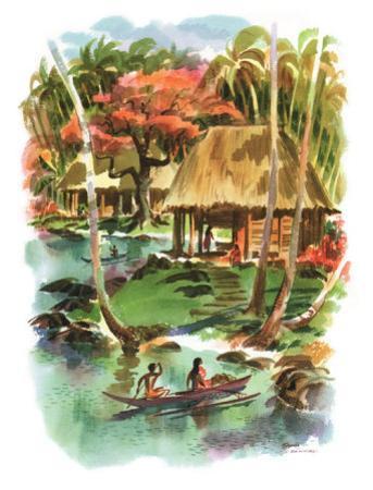 Samoa by Louis Macouillard