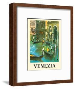 Venice (Venezia) Italy - Venetian Canals by Louis Macouillard