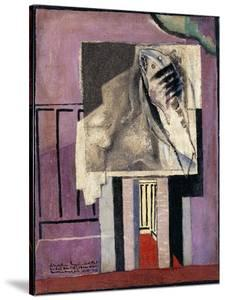 Still Life in Front of Balcony; Nature Morte Devant Le Balcon, 1929 by Louis Marcoussis