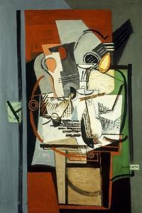 Still Life; Nature Morte, C.1930 by Louis Marcoussis