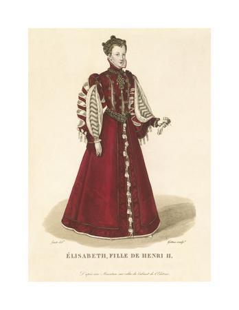 Elisabeth, Daughter of Henri II