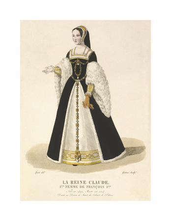 La Reine Claude, 1st Wife of Francois I
