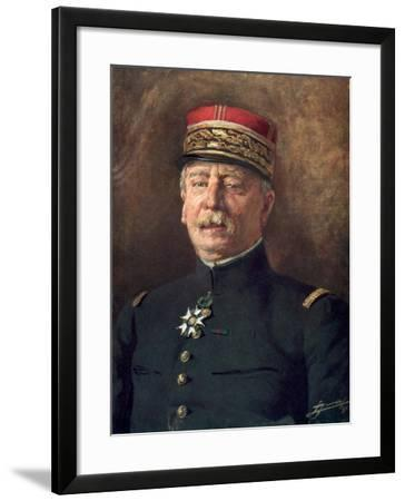 Louis Maud'Huy, French First World War General--Framed Giclee Print