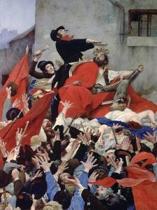 Apotheosis of the Rabble, 1884 by Louis Maurice Boutet De Monvel