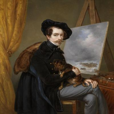 Self-Portrait by Louis Meijer