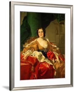 Louise Elisabeth of France, 1745 by Louis-Michel van Loo