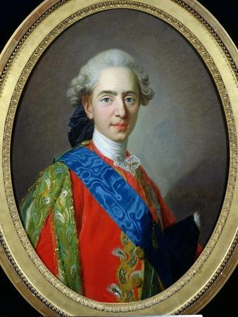 Portrait of Dauphin Louis of France Aged 15, 1769