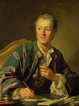 Portrait of Denis Diderot (1713-84) 1767