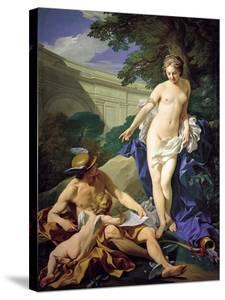 Venus with Mercury and Cupid by Louis Michel Van Loo