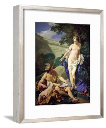 Venus with Mercury and Cupid