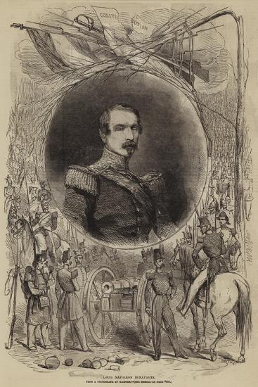 Louis Napoleon Bonaparte--Giclee Print