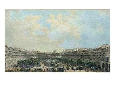 The Garden of the Palais Royal, 1791