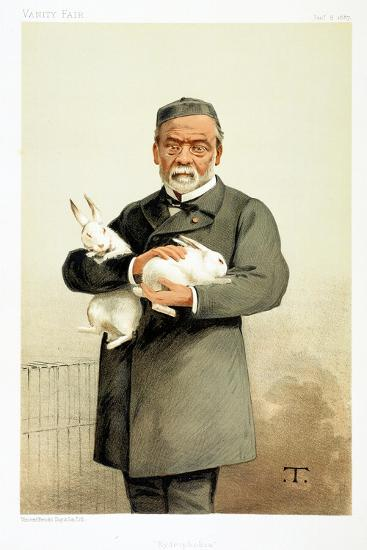 Louis Pasteur, French Chemist and Founder of Modern Bacteriology, 1887--Giclee Print