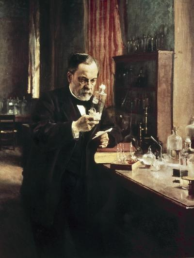 Louis Pasteur-Albert Edelfelt-Art Print