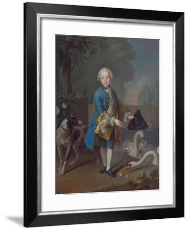 Louis Philippe Joseph D'Orléans (1747-179), Called Philippe Égalité-Louis Tocqué-Framed Giclee Print
