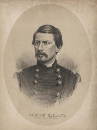 General Mcclellan, 1862