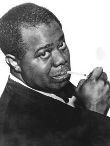 Louis 'Satchmo' Armstrong (C1898-197), American Jazz Trumpeter and Singer
