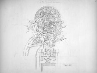 System of Architectural Ornament: Plate 14, Fantasy, 1922-23 by Louis Sullivan