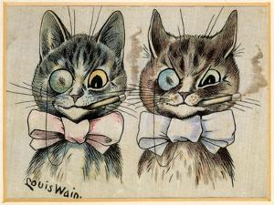 A Pair of Toff Toms by Louis Wain