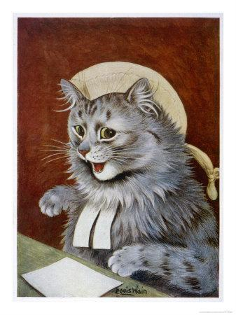 Cat Dressed as a Judge
