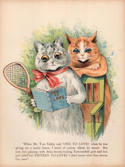 Louis Wain Cats-Louis Wain-Giclee Print