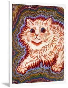 Kaleidoscope Cats III by Louis Wain