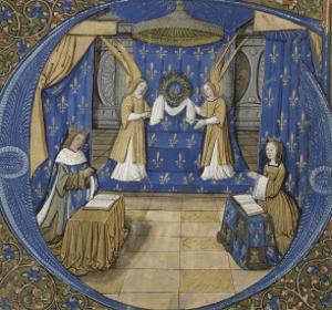 Louis XII et Anne de Bretagne en prière