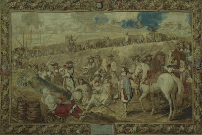 Louis XIV at the Battle of Tournay, June 21, 1667--Giclee Print
