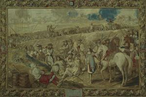 Louis XIV at the Battle of Tournay, June 21, 1667