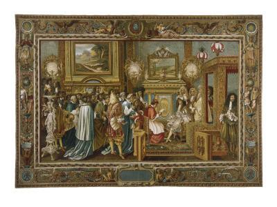 Louis XIV Fontainebleau--Giclee Print