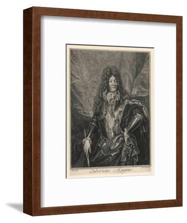 Louis XIV King of France (Reigned 1643-1715)--Framed Giclee Print