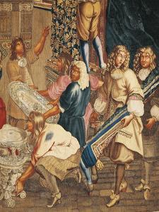Louis XIV Visiting the Gobelins Factory