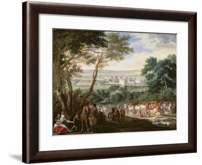 Louis Xiv- Meulen-Framed Giclee Print