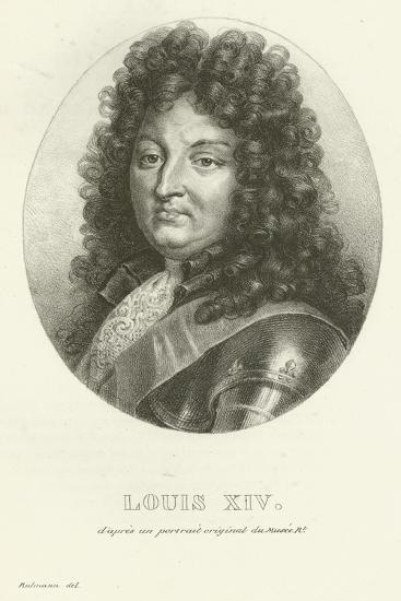 Louis XIV--Giclee Print