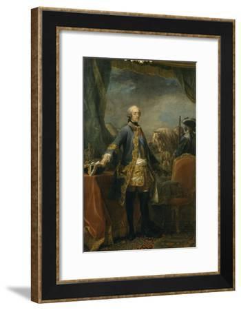 Louis XV (1710-1774), roi de France-Loo Carle Van-Framed Giclee Print