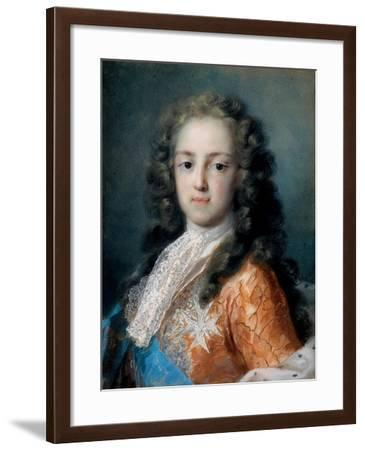 Louis XV of France (1710-177) as Dauphin, 1720-1721-Rosalba Giovanna Carriera-Framed Giclee Print
