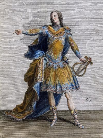 Louis XV Wearing Costume of Apollo, France--Giclee Print