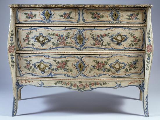 Louis XV-XVI Transition Period Commode--Giclee Print