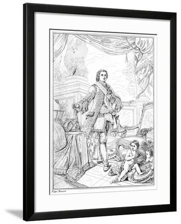 Louis XVI, King of France-Naloire Naloire-Framed Giclee Print