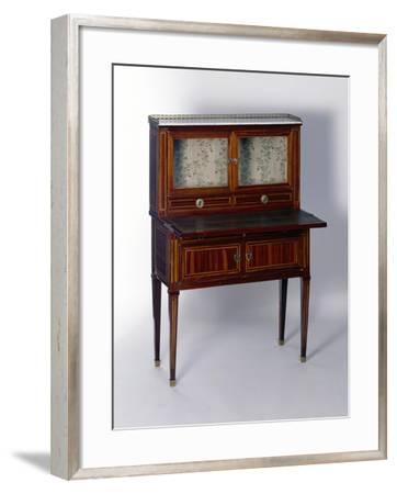 Louis XVI Style Bonheur Du Jour--Framed Giclee Print