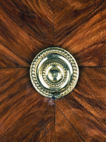 Louis XVI Style Oak and Spruce Commode Inlaid with Amaranth and Madagascar Rosewood--Giclee Print
