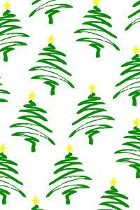 Funky Christmas Trees, 2017 by Louisa Hereford